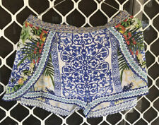 Camilla My Marjorelle Shorts $4 EXPRESS Size 8 1 Small Franks Embellished Silk