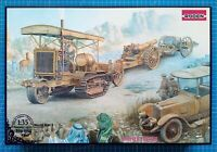 1/35 Holt 75 Artillery tractor w/BL 8-inch Howitzer (Roden 814)