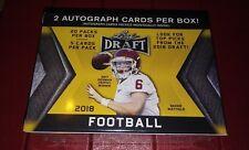 2018 Leaf Draft Football (20) Pack Box (5) Cards Per Pack  (2) Autographs +  RCs