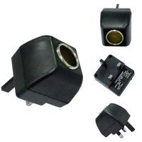 Cigarette Lighter Socket 220V Plug to 12V DC Car Charger Power Adapter