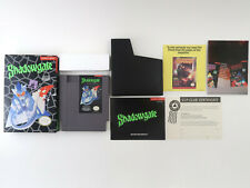 Shadowgate Nintendo Entertainment System NES - Complete, Box, Manual, & Inserts