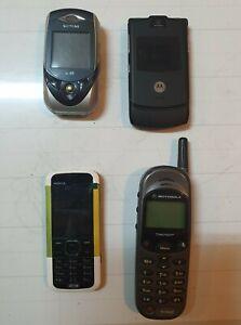 Motorola timeport V3 Siemens SL65  Nokia 5000D-2 Vintage lotto 4 pezzi