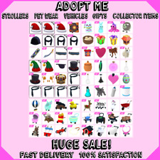 Adopt Me LOT | Strollers | Pet Wear | Food | Gifts | Collector Items | HUGE SALE