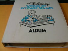 Disney, Mint Nh Stamps & Covers mounted in a battered Disney album