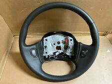 NEW 2004-2005 Saturn Vue & L300 Steering Wheel -- Black Leather W/ Switches
