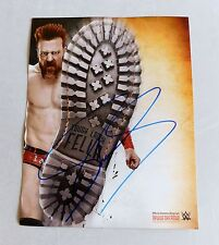 SHEAMUS Autographed 11x14 WWE Photo Lucha Libre Promo Wrestling wwf Color