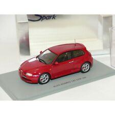 ALFA ROMEO 147 GTA Rouge SPARK S0485 1:43