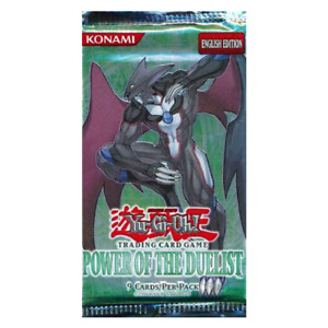 YuGiOh Power of the Duelist Pack Booster Edition English Factory Sealed 9 Cards