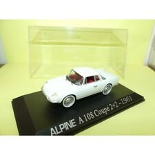 RENAULT ALPINE A108 COUPE 2+2 1961 Blanc NOREV Collection M6 1:43