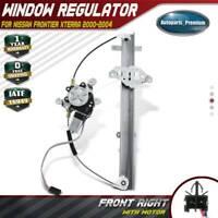 Front Right RH Power Window Regulator w/ Motor for Nissan Frontier 98-04 Xterra