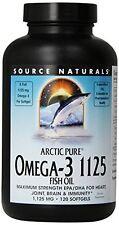 Source Naturals ArcticPure Omega-3 1125mg Fish Oil 120 SoftGels