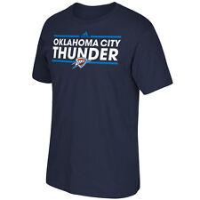 Oklahoma City Thunder Adidas Go-To-Tee Primary Logo T-Shirt - Navy Size M