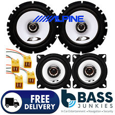 Fiat Punto MK2 1999-10 ALPINE 800 Watt 2 Way Front & Rear Door Car Speakers Kit
