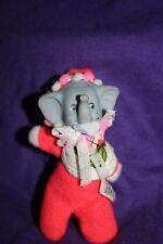 Vintage baby elephant ornament