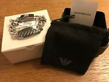 Emporio Armani Mens Stainless Steel Bracelet EGS168804019 - New in Box