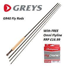 Greys GR40 9' #5 Trout Fly Rod * 2020 MODEL * 1436365 * FREE FLYLINE RRP £16.99