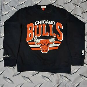 Mitchell & Ness Chicago Bulls NBA Crewneck Sweatshirt Size S