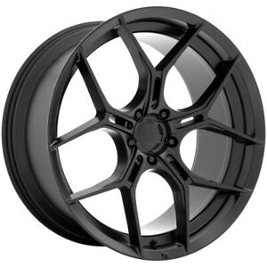 "Asanti ABL-37 Monarch 22x9 5x120 +38mm Satin Black Wheel Rim 22"" Inch"