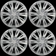 "16"" Set of 4 Wheel Covers Full Rim Snap On Hub Caps fit R16 Tire & Steel Wheels"
