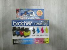Genuine Brother LC41 4 Color Multi-Pack