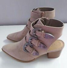 Ladies Womens  Gorgeous  Block Heel Shoes   Size 5  Ex. Cond