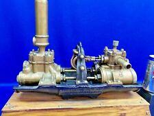 New listing Gould'S 1895 Duplex Brass Water Lifter, Water Pumping Water!