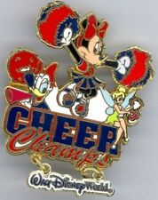 Disney Cheer Champs Minnie Daisy Duck & Tinker Bell Limited Edition 1500 Pin