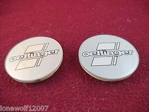 Oettinger Wheels Silver Custom Wheel Center Caps # 74404 ONE CAP
