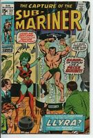 Marvel Comics  The Sub-Mariner #32 First Llyra appearance Dec. 1970 VF-