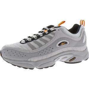 Reebok Mens Daytona DMX II Gray Running Shoes Sneakers 9 Medium (D) BHFO 2177
