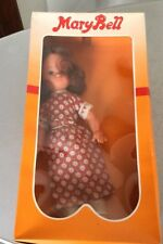 VINTAGE 70s# GALBA DOLL MARYBELL MARY BELL QUALITY VINTAGE DOLL#NIB IT.