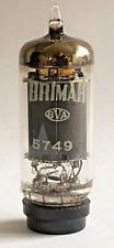 Brimar England 5749 CV4009 EF93 6BA6 Yellow T Valve/Tube NOS (V22)