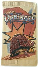 Magic the Gathering MTG Unhinged Booster Pack 2004 New & Sealed VHTF!