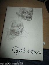 Coffret dvd-La création de Gollum-Smeagol-seigneur des anneaux-certificat ok