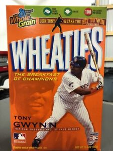 Tony Gwynn MLB HOF Sealed Wheaties Box