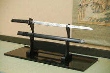 Authentic Japanese Imitation Katana; Black Ninja Katana