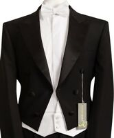 MENS NEW MARCELLA WHITE TIE WAISTCOAT AND BOW TIE SET ORCHESTRA MANSION HOUSE