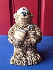 Nurse Bear Mineral Florida Bear Etc MADE in the USA No other on EBAY ooak RARE #