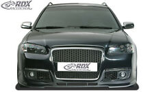"RDX Paraurti Audi a6 4b c5 2001-2004 ""singleframe"" FRONT Grembiule Spoiler Anteriore"