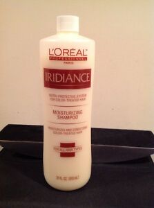 Loreal  Iridiance Moisturizing Shampoo For Color  Treated Hair  31oz   DISC RARE