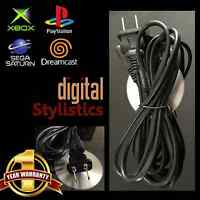 AC Adapter Power Cord 6FT. Playstation 1 PS2 PS4 Xbox original Xbox One S Saturn