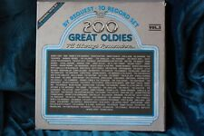 """""""By request 200 Great Oldies I'll always Remember vol.2"""" Box set. 10 Records"""
