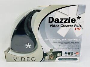 Dazzle DVC-107 Video Creator Plus HD Pinnacle USB Video Capture Device SEALED