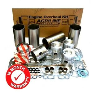 ENGINE OVERHAUL KIT FOR SOME MASSEY FERGUSON 285 298 595 698 TRACTORS.