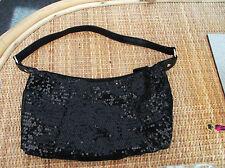 """""""British Home Stores"""" Donna nero da sera borsa di dimensioni circa 6 x 11 INS"""