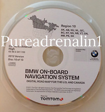 01 02 2003 BMW X5 M5 740i 740iL 745i NAVIGATION MAP CD CANADA AK AB BC NS QC ON