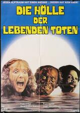 446 NIGHT OF THE ZOMBIES German 80 image of terrified girl in water w/2 monsters