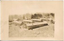 Civilian Conservation Camp (C.C.C.) NF-6 #1323 in Marionville PA RP Postcard