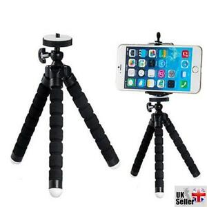 Black Small Flexible Octopus Tripod / Gorillapod for Digital Camera / Mobile ...