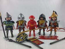 PLAYMOBIL  Samurai  Ninja Asiakrieger Ritter 5 Figuren Mongolen
